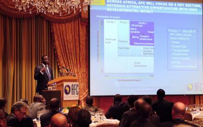 Africa Finance Corporation Investment Seminar Four Seasons Washington DC