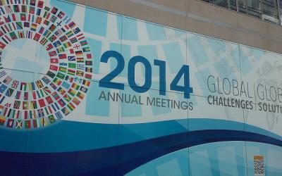 World Bank Spring Meetings Washington DC