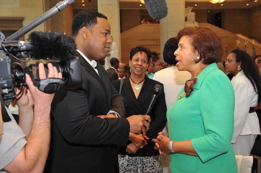 National Council of Black Women Dr E Faye Williams