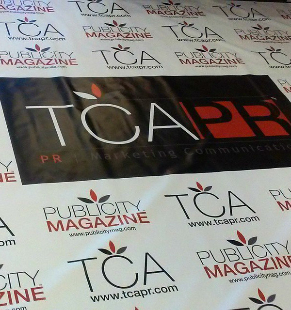 Step and Repeat Printing Washington DC Marketing, Public Relations